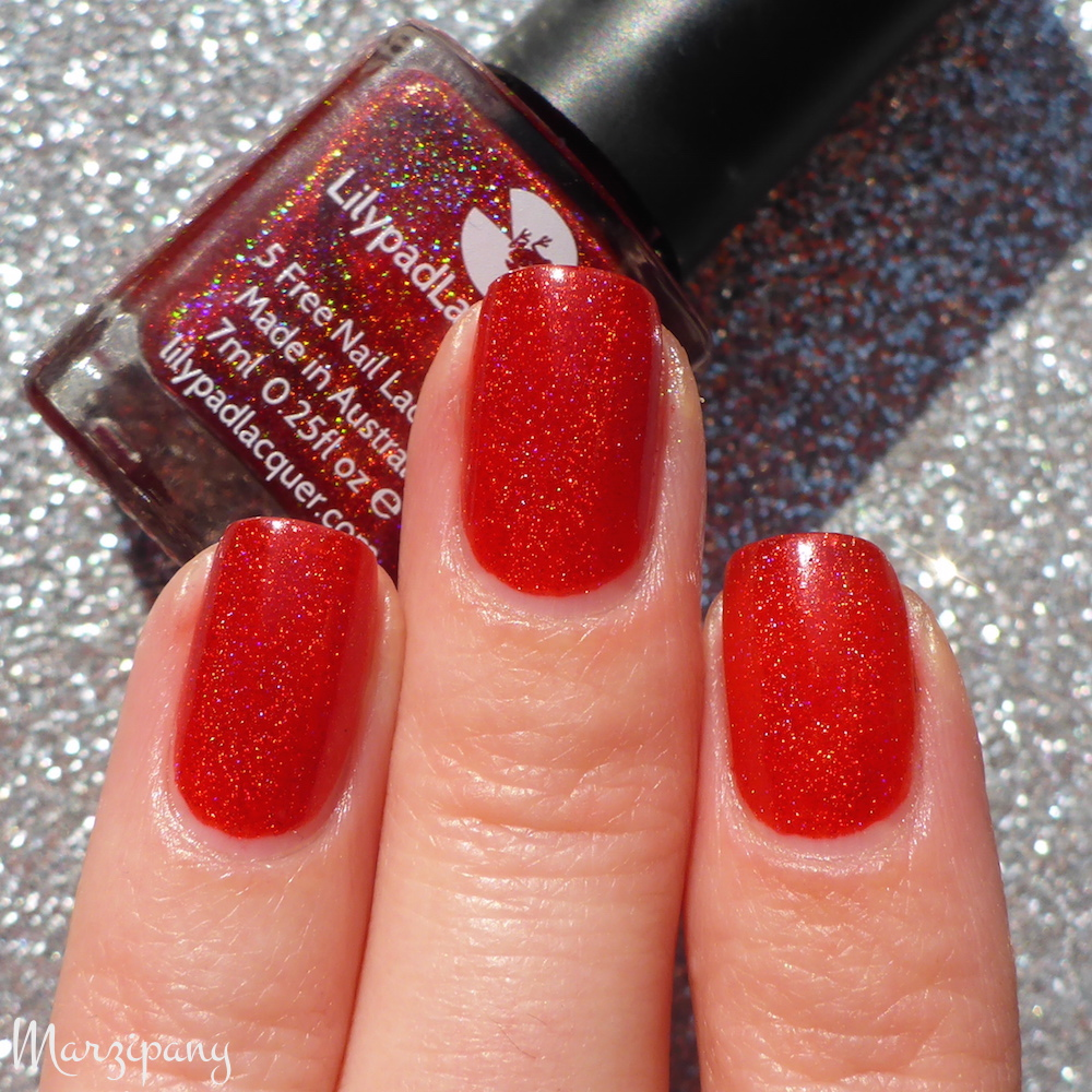 Lilypad Lacquer Mad Love   Marzipany