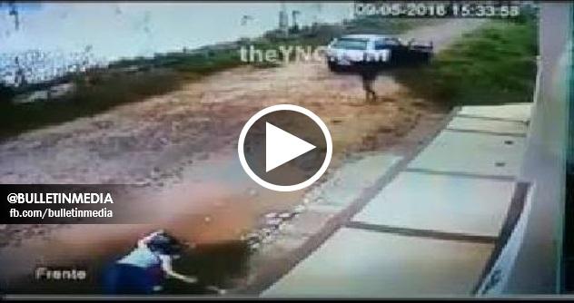 [VIDEO] Tindakan Kejam Penyamun Melanggar Seorang Wanita sebelum Melarikan Beg Tangan