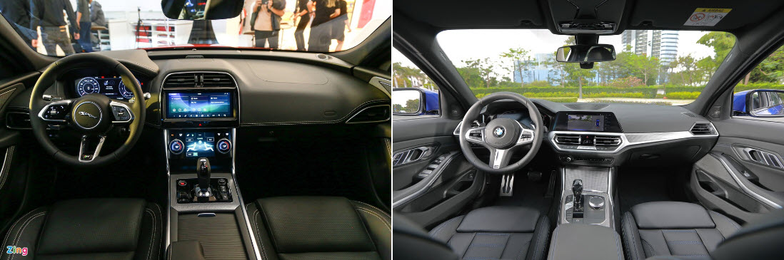 Sedan thể thao tầm 3 tỷ chọn Jaguar XE hay BMW 3-Series