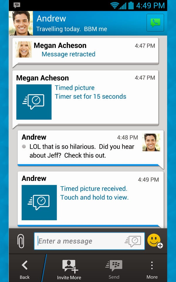 BlackBerry Messenger (BBM) for Android arrives on Amazon Appstore