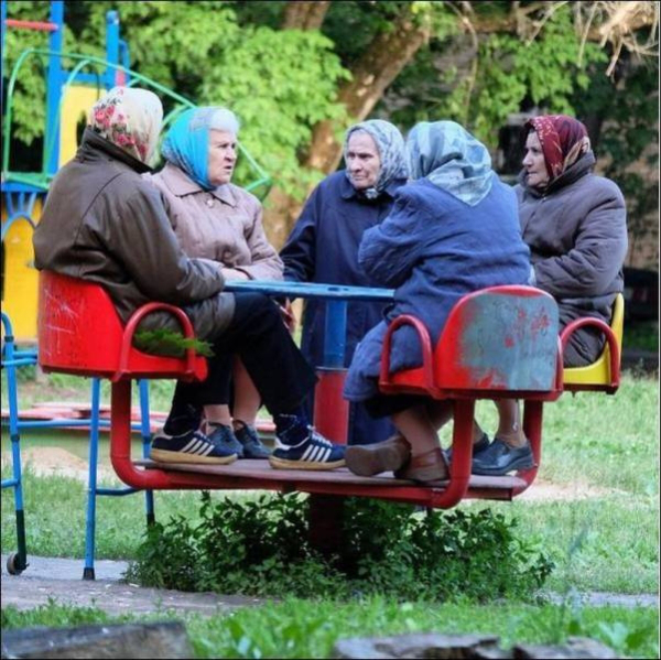 se divertindo na velhice