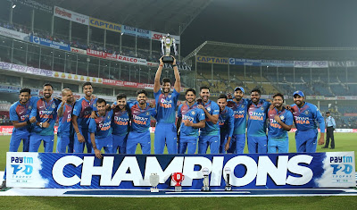 India vs Bangladesh 3rd T20I India beat Bangladesh by 30 runs, wins series 2-1, Chahar gets hat-trick