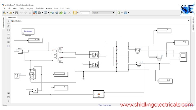 Active Cell Balancing Using A Flyback Converter Simulation In Matlab Simulink