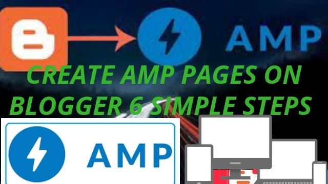 Create AMP Pages On Blogger