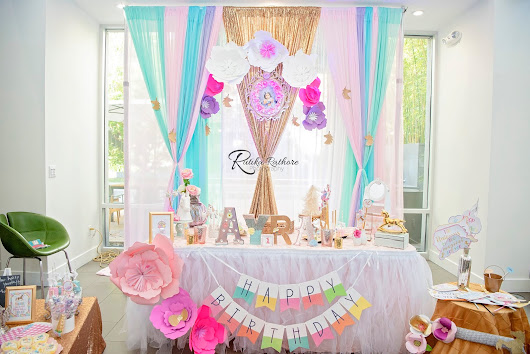 Ayra's Dazzling Rainbow Party:'I believe in magic' ~ A one stop solution for A to Z of events!