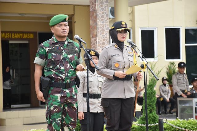 Polres Muba Gelar Apel Konsolidasi Ops Ketupat Musi 2019