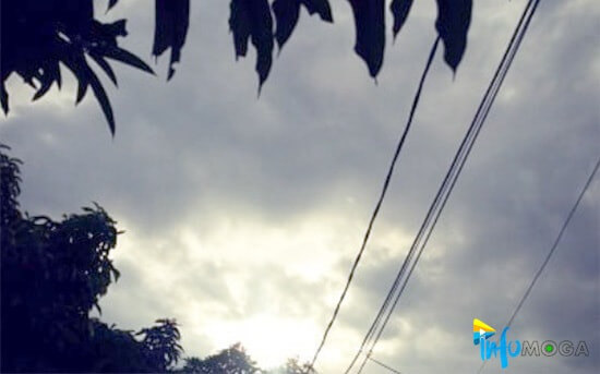 Hujan Lebat di Perkirakan Guyur Wilayah Moga Sore Nanti