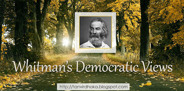 Whitman's Democratic Views