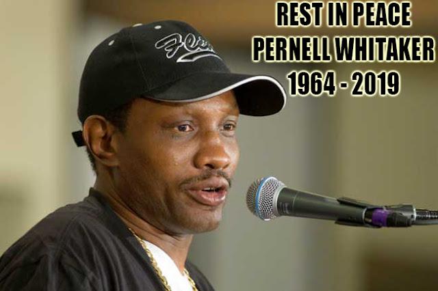 Sang Legenda Tinju Profesional Pernell Whitaker Tewas Ditabrak Mobil