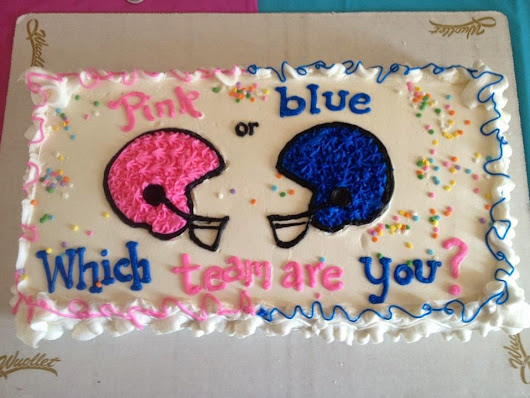 My (fake) Gender Reveal Party