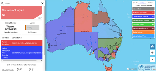 Maps Mania: The State of Play in the Australian Election