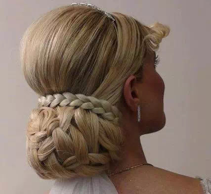 professional wedding updo