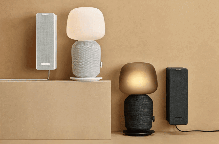 Sonos And Ikea Unveil The Ultimate Speaker For Bookshelves And Table Lamp