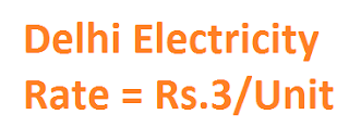 Electricity Rate In Delhi