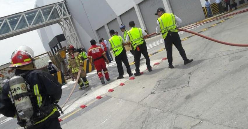 Explosión en Jockey Plaza deja un muerto (FOTOS)