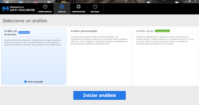 Malwarebytes Anti-Malware Premium v3.0.6.1469 multilenguaje Protección especializada