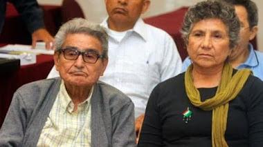 Fiscalía del Callao niega a Elena Iparraguirre la entrega del cuerpo del terrorista Abimael Guzmán.