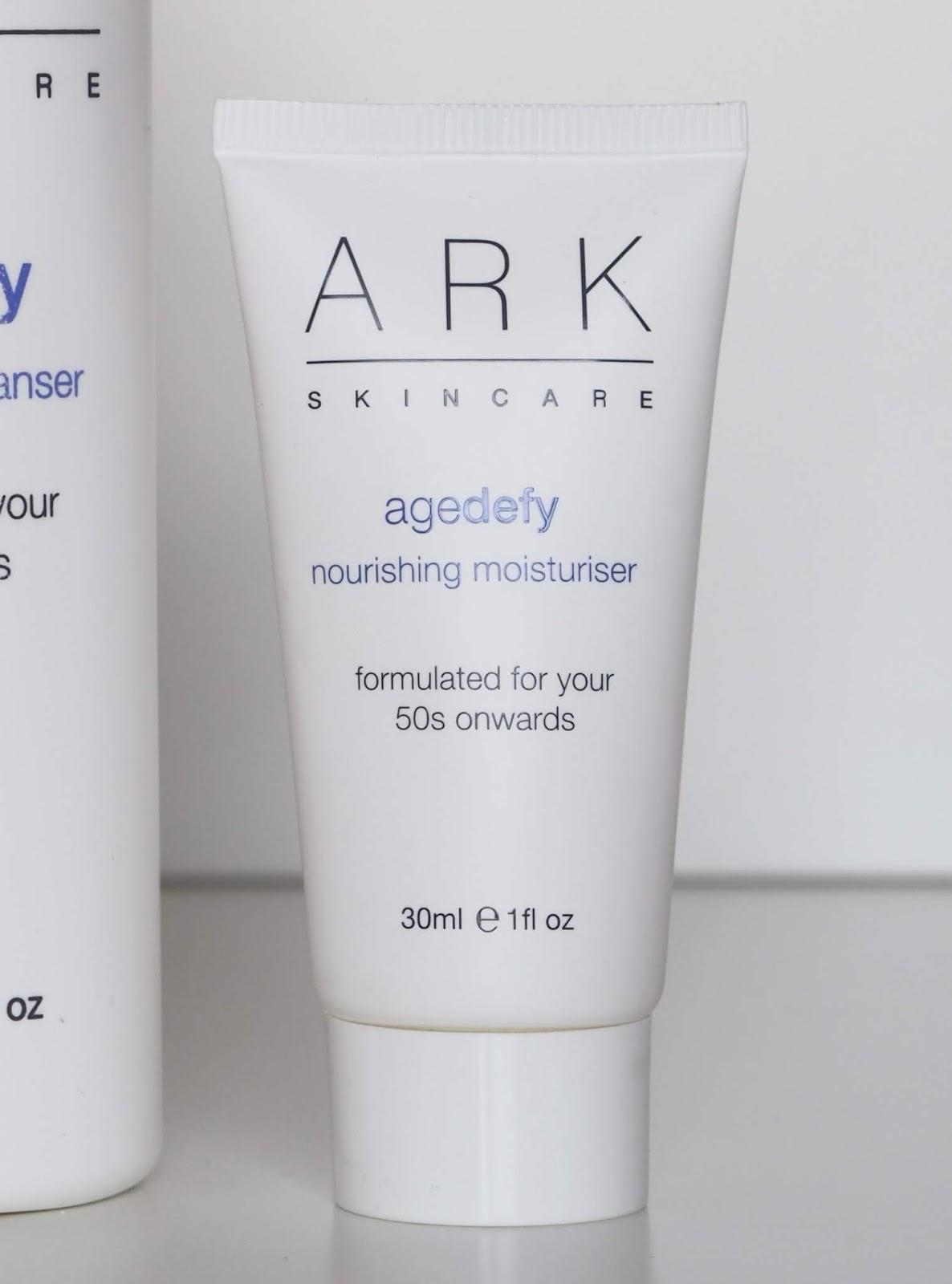 ARK age defy moisturiser