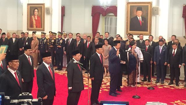 Jokowi Lantik 9 Anggota Wantimpres, Wiranto Jadi Ketua