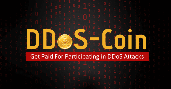 DDoSCoin — New Crypto-Currency Pays Users for Participating in DDoS Attacks