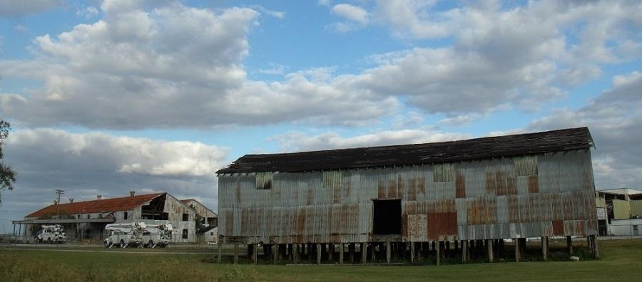 Naves industriales de la US Sugar Corporation en Bryant