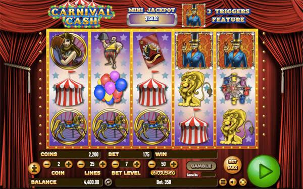 Main Gratis Slot Indonesia - Carnival Cash Habanero