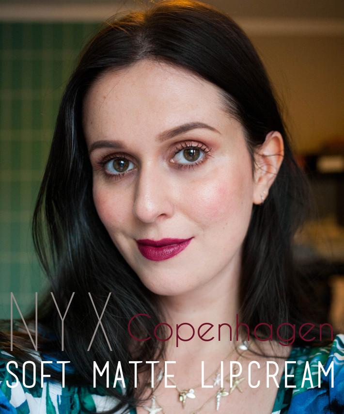 NYX Soft Matte Lipcream review in Copenhagen