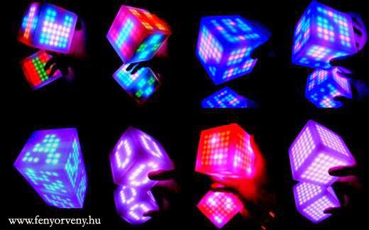 Több mint érintőképernyős Rubik-kocka