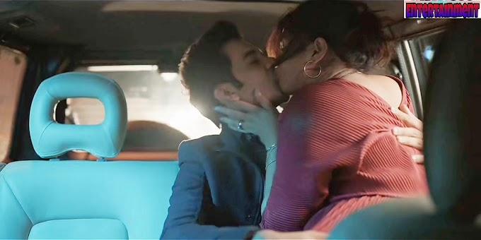 Priyanka Chopra kissing scene -The White Tiger (2021) HD 720p
