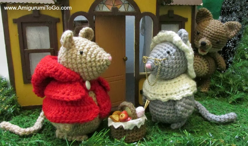 Amigurumi To Go Coraline : Little red riding mouse free patterns amigurumi to go