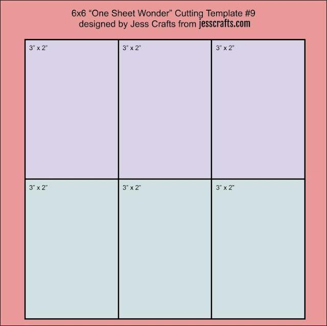One Sheet Wonder Template #9 by Jess Crafts