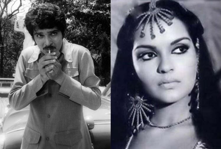 Raza Murad With Zeenat Aman