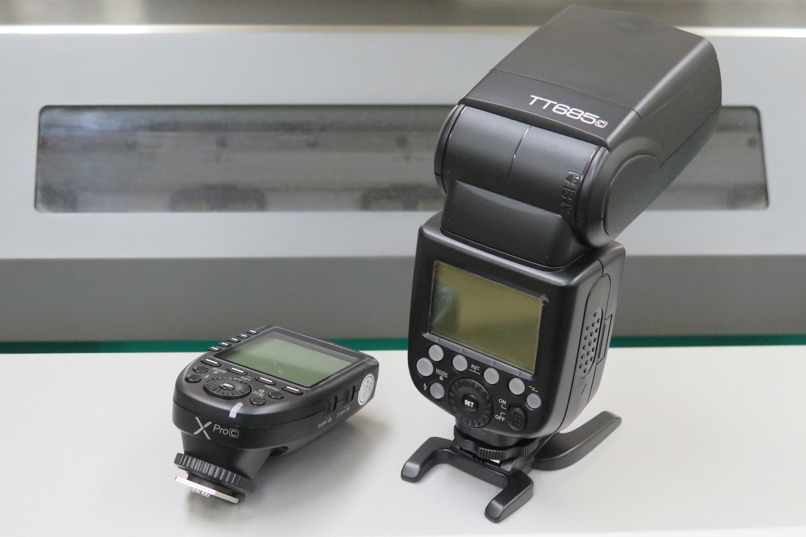 Let's go Touring with Boxer Twin !! : Godox TT685cとXPro-c