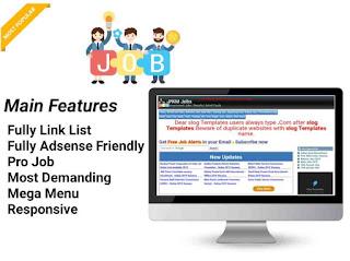 free blogger templates blogger templates pkm  jobs blogger template