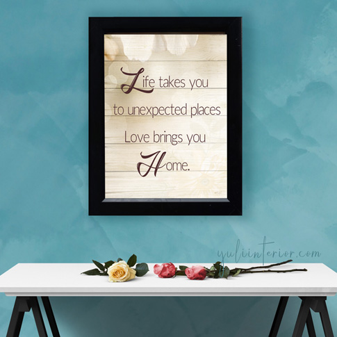 Life, Love, Home Lovers Couple Gift Wall Frames in Port Harcourt, Nigeria