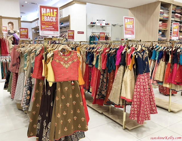 LuLu Half Pay Back, Lulu Hypermarket Kuala Lumpur, LuLu 1 Shamelin, Fashion, Footwear, Ladies Bags, Sarees, Churidars, Sale, Promotion, Shopping, Lifestyle