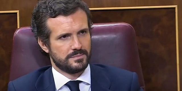 Pablo Casado. Congreso