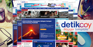 DetikCoy Blogger Template