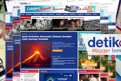 DetikCoy Blogger Template: Tema Portal Berita Terbaik