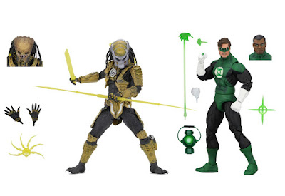 New York Comic Con 2019 Exclusive Green Lantern vs Sinestro Corps Predator Action Figure 2 Pack by NECA x DC Comics x Dark Horse