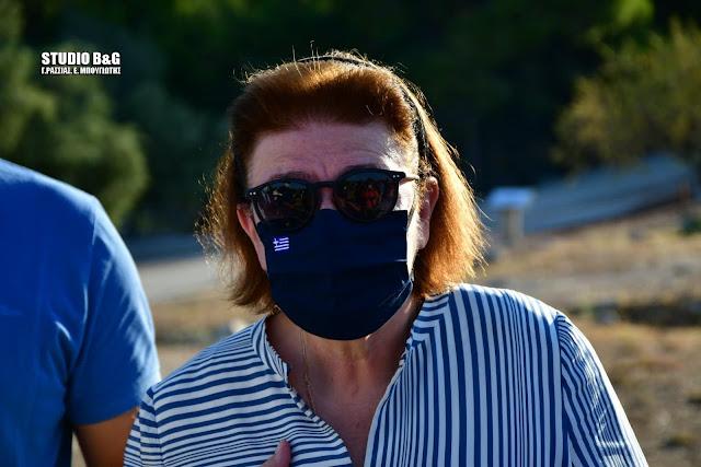 Απάντηση της υπουργού Πολιτισμού στον Αλέξη Τσίπρα για τη φωτιά στις Μυκήνες