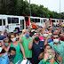 'Estamos renovando a frota e garantindo empregos', diz prefeito, ao entregar mais de cem novos ônibus