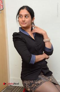 Telugu Actress Priyanka Pallavi Stills in Micro Mini Skirt at Nenosthaa Movie Song Launch at Radio City  0036.JPG