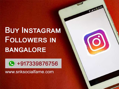 instagram followers bangalore