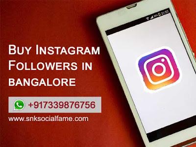 instagram followers bangalore