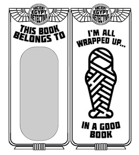 Print and color Scott Peters bookmark