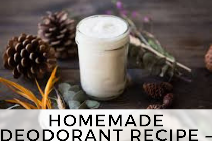 Homemade Deodorant Recipe – Lavender Scented Homemade Deodorant