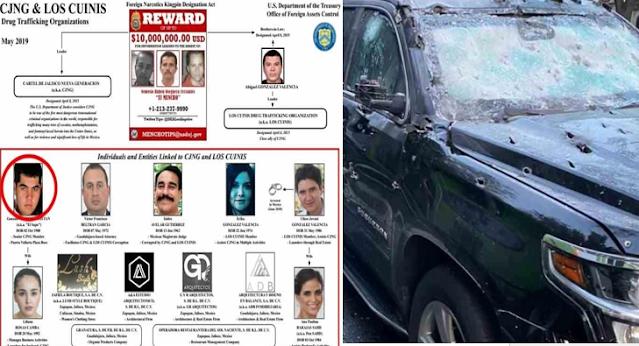 """""""La Firma"""" el capo Colombiano que llego a México con sus propios hombres y que obedece las ordenes directas de Nemesio Oseguera """"El Mencho"""""""
