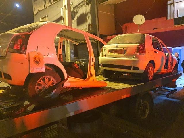 Carro furtado é localizado pela polícia com ajuda de rastreador na Vila Zumbi em Colombo