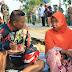 Sambil Gowes, Dandim 0812/Lamongan Tinjau Rumah Warga Korban Kebakaran